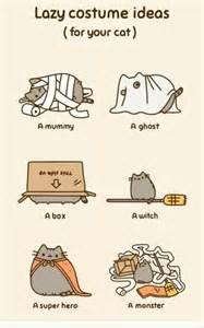 Halloween Cute Cat Comics
