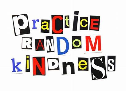Kindness Acts Random Practice Act Clipart Week