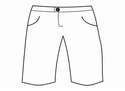 Shorts Clipart Pants Clip Short Clothes Pocket