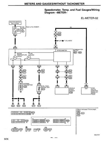 99 Altima Wiring Diagram by Repair Guides Electrical System 1997 Meters And