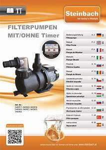 Filterpumpen Bedienungsanleitung