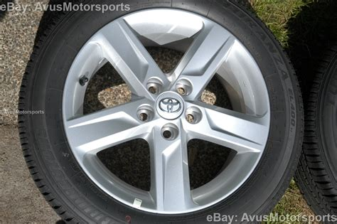 2013 toyota camry rims new 2013 toyota camry oem 17 quot factory wheels tires solara