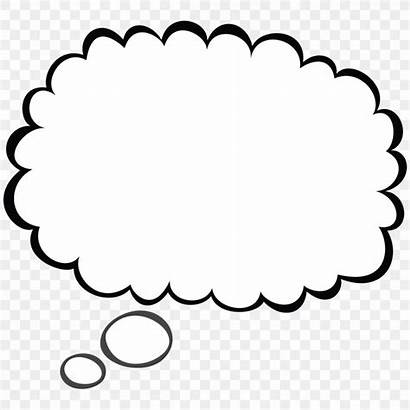 Thought Speech Bubble Clip Balloon Drawing Clipart