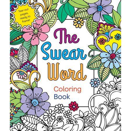 walmart coloring books the swear word coloring book walmart