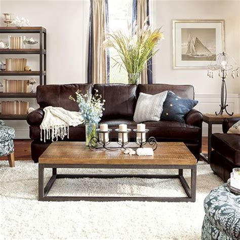 Living Room Ideas With Brown Leather Sofa by Best 25 Brown Leather Couches Ideas On Living
