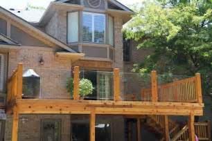 Better Decks Fences by Glass Deck Railings And Other Kinds Is One Better Than