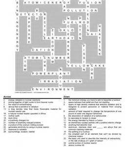 Crossword Puzzle Answer Key