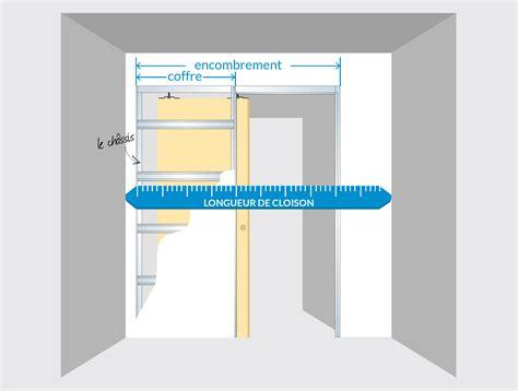 ouverture salon cuisine comment intégrer une porte à galandage dans un plan de