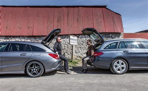 comparatif si e auto essai comparatif mercedes shooting brake contre
