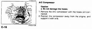 Does The A  C Compressor Have A Connector On The Wire