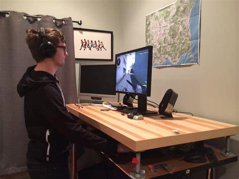gaming computer desk for best gaming desk home furniture design