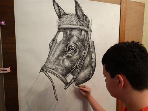 year  child prodigy creates incredible animal drawings