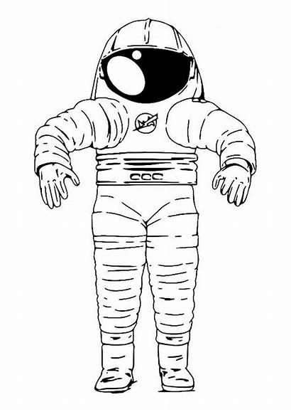 Suit Space Coloring Pages Edupics
