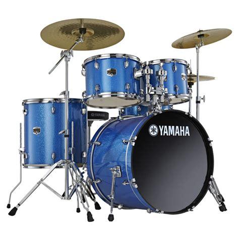 disc yamaha gigmaker  fusion drum kit blue ice