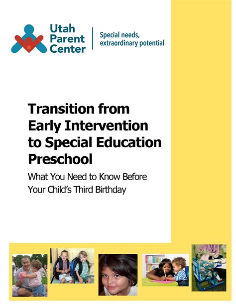 transition from early intervention to preschool preschool 171 utah parent center 106