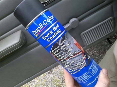 Duplicolor Bed Liner Spray by The New Spray On Dupli Color Truck Bed Coating Jeep