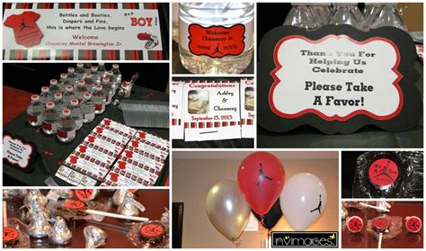 michael jordan jumpman baby shower party ideas photo 3
