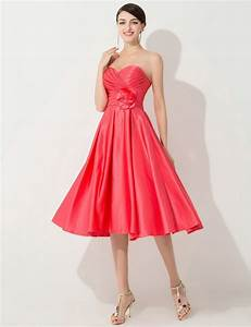 sweetheart coral colored bridesmaid dresses cheap tea With wedding dresses with coral color