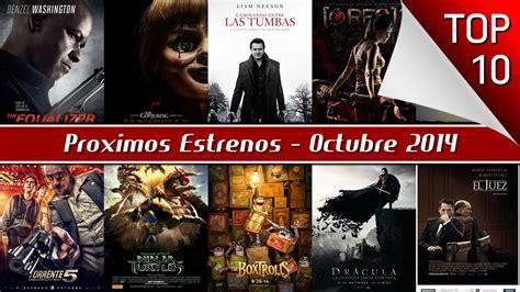 Proximos Estrenos De Cine, Octubre 2014