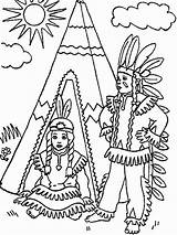 Native Coloring American Pages Boy Teepee Americans Nations Drawing Boys Printable Children Thanksgiving Adults Chumash Template Popular Recommended sketch template
