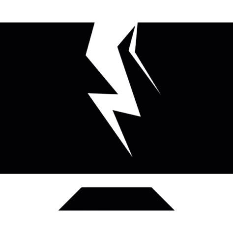 telecharger bureau écran de bureau cassé informatique télécharger icons gratuitement