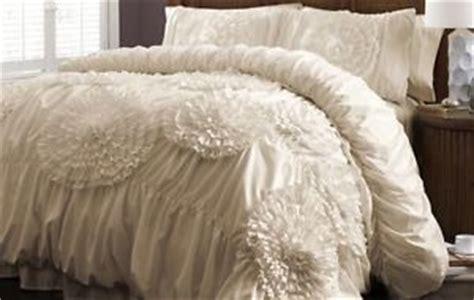 ivory shabby chic bedding shabby chic bedding king size ivory comforter set 3pc elegant floral ruched new ebay