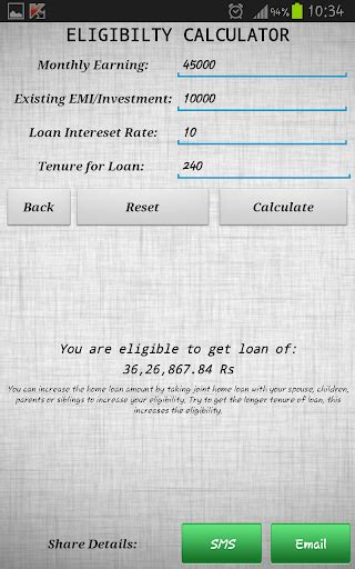 download home loan emi calculator google play softwares aekqwmalmqde mobile9