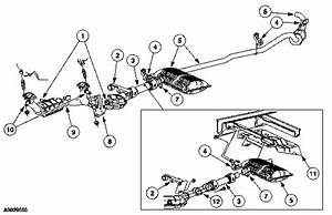 Ford Van Windstar 2003 Sel Exhaust System Diagram