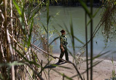 trumps border wall lands rio grande  list  nations
