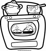 Oven Clipart Open Drawing Cliparts Clip Drawings Clipartmag Clipartbest Library Collection Paintingvalley sketch template