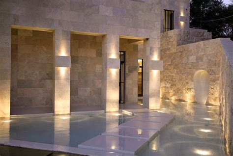 Popular decorative stone interior of good quality and at affordable prices you can buy on aliexpress. Californian House Encased in Beautiful Travertine Stone ...