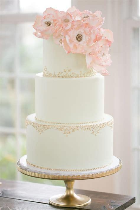 Simple Elegant Wedding Cake Beautiful Desserts Pinterest