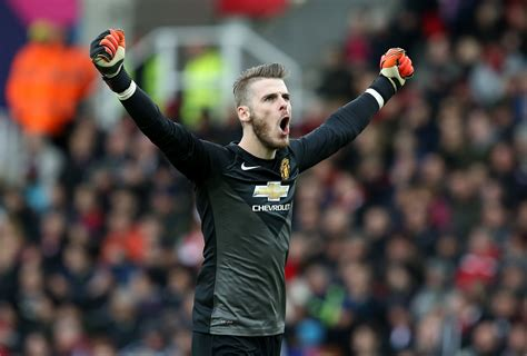 manchester united david de gea deserves pfa player