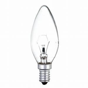 E14 40 Watt : 40 watt ses e14 small edison screw candle light bulb clear ~ Eleganceandgraceweddings.com Haus und Dekorationen