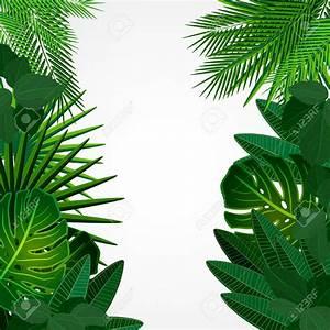 Jungle Leaves Border Clip Art (57+)