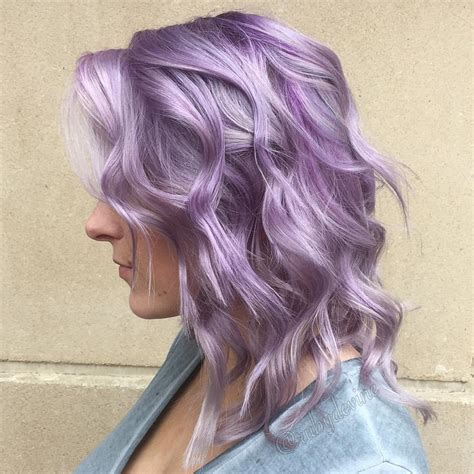 And Purple Hairstyles by 20 Swoon Worthy Lilac Hair Ideas