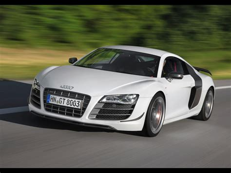 2018 Audi R8 Gt Front Angle Speed 1920x1440 Wallpaper