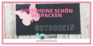 Wie Kann Man Gutscheine Schön Verpacken : verpackungs tipps f r geschenke der schachtel shop m nchen ~ Markanthonyermac.com Haus und Dekorationen