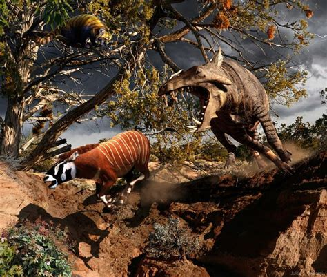 prehistoric animals creatures weird dinosaur alive today csotonyi extinct steve mesohippus dinosaurs megafauna julius horses horse archaeotherium buzzfeed hippo glad