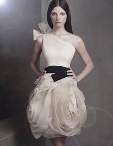 Vera Wang Bridesmaid Dresses One Shoulder 2014-2015 ...