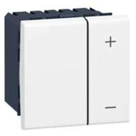 variateur de lumi 232 re universel 2 fils legrand mosaic blanc