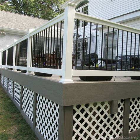 Metal Deck Skirting Ideas by 147 Best Images About Deck Ideas On Deck