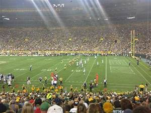 Lambeau Field Seating Chart With Rows Lambeau Field Section 111 Home Of Green Bay Packers
