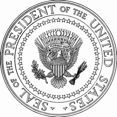 Seal Presidential Usa President Svg Sello Unidos