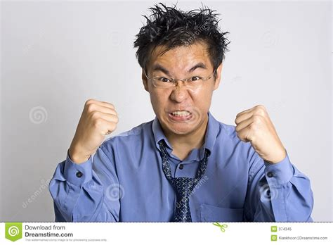 Angry Adult Royalty Free Stock Photo