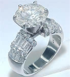3 5 carat engagement ring 5 carat ring
