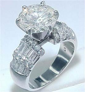 5 carat diamond ring With 5 carat wedding ring
