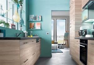 Cuisine Turquoise Et Gris. deco salon bleu marine. dix cuisines ...