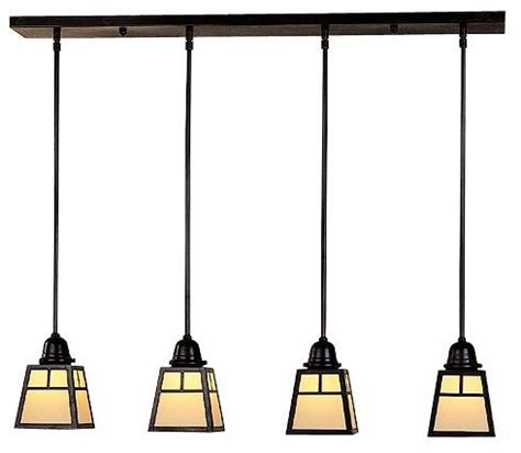 a line multi light pendant by arroyo craftsman modern