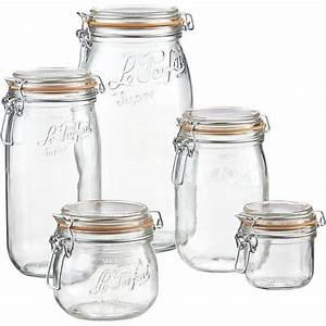 Bocaux En Verre Pour Conserves : bocaux conserve verre table de cuisine ~ Nature-et-papiers.com Idées de Décoration